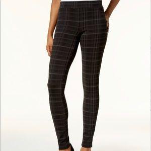 Style & Co Plus Plaid Leggings New